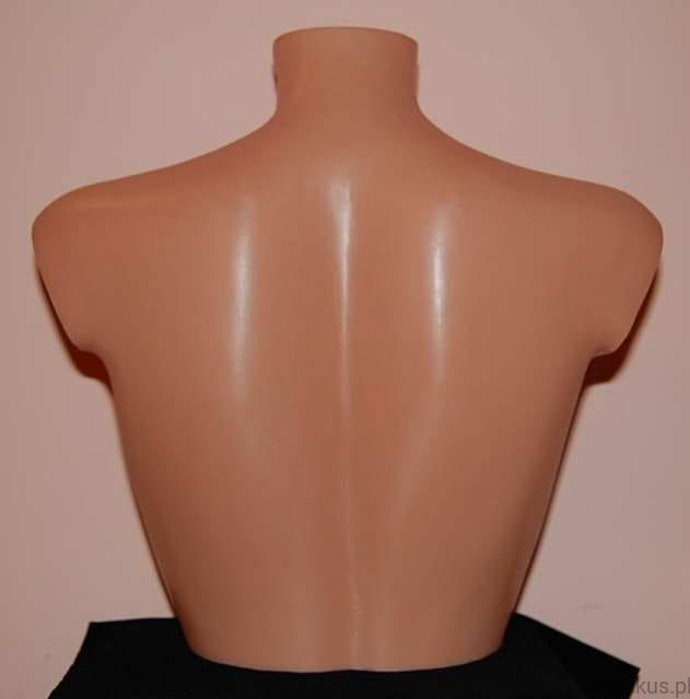 4bee4e17213cf9 Manekin popiersie damskie, rozmiar biustu B -plastikowe, w kolorze  cielistym. (1)